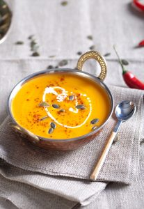 pumpkin soup postpartum nutrition